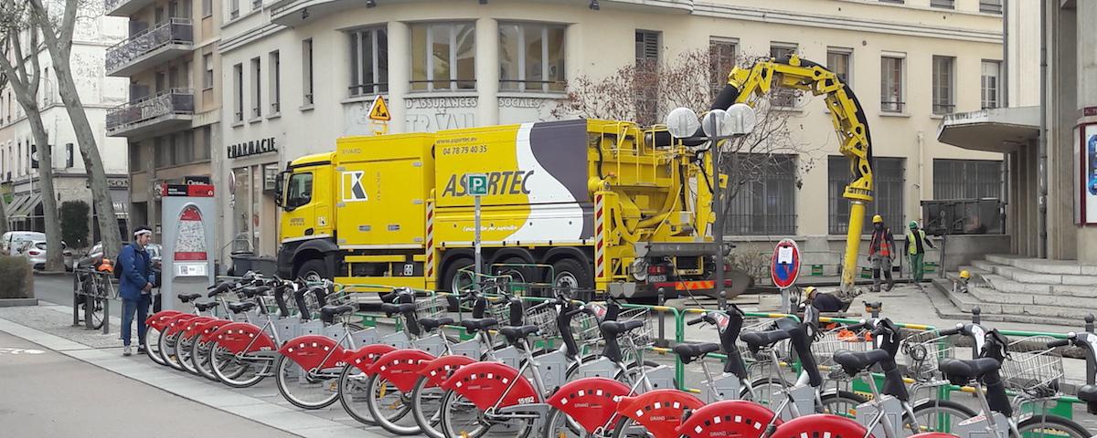 ASPIRTEC Rhône Alpes - Camion aspirateur - Aspiratrice Excavatrice